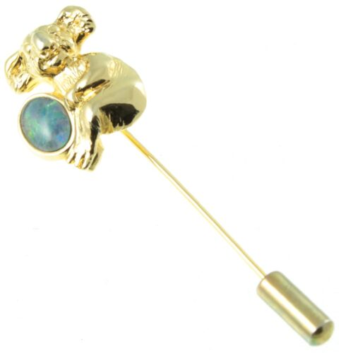 Koala Stick Pin Brooch