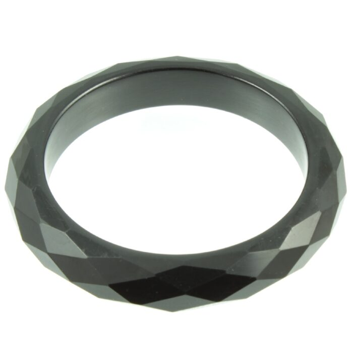 Black Bangle - top view