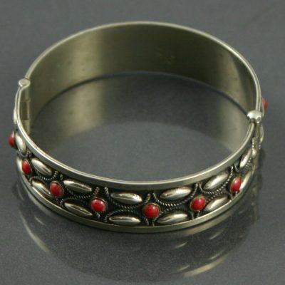 Italian Silver Bracelet circa 1960s