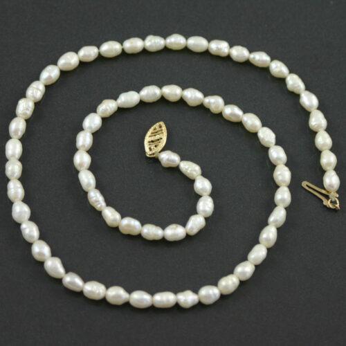 Single Strand Baroque pearl necklace circa 1960s