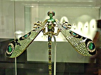 Art Nouveau Jewellery - Rene Lalique Dragonfly Lady