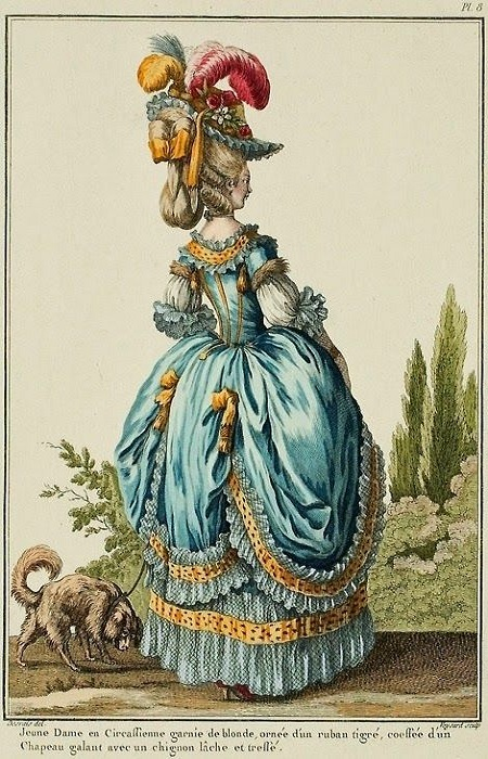 Georgian Fashion - Dress