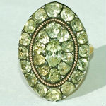 Georgian Jewellery - old mine cut diamond ring