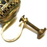 screw back earrings 1894