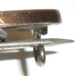 Victorian Brooch C Clasp