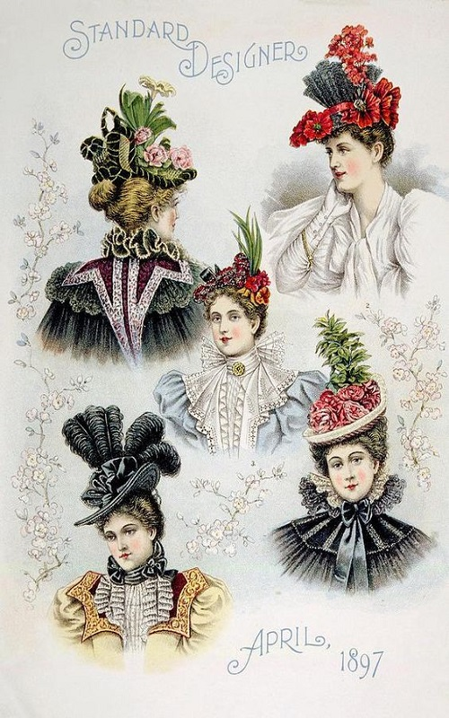 Victorian fashion - Hats