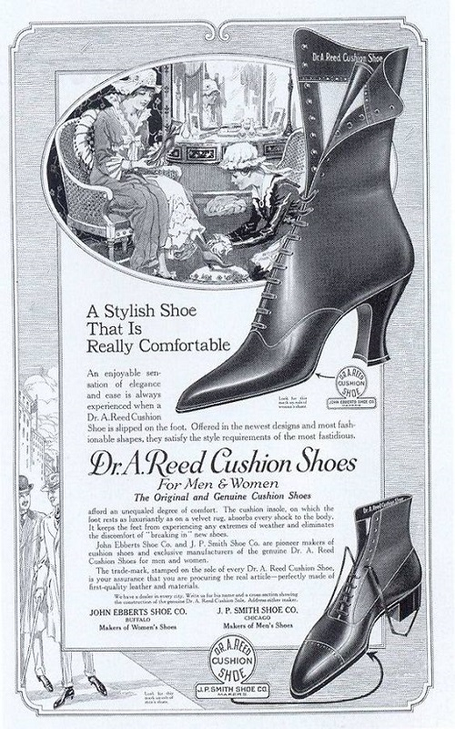 Victorian fashion - shoes