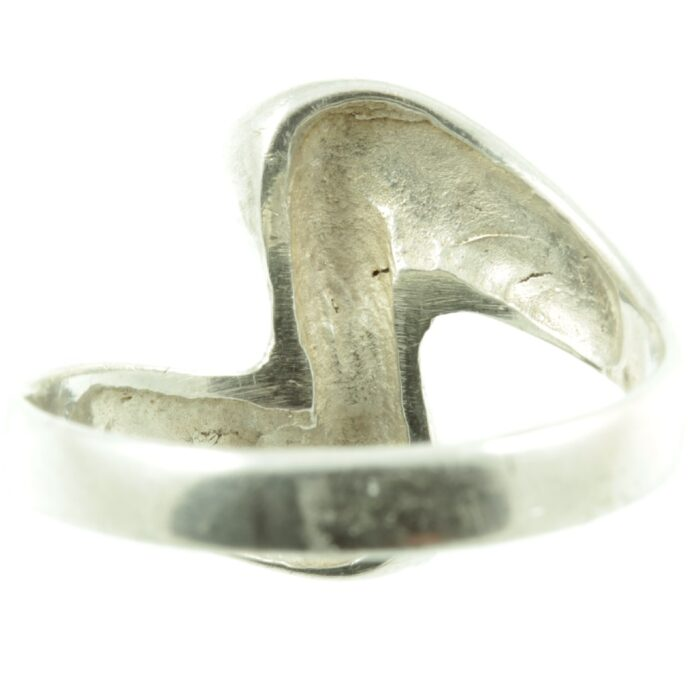 Sterling Silver Wave ring - inside view