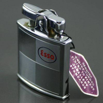 Vintage Ronson lighter marked Esso