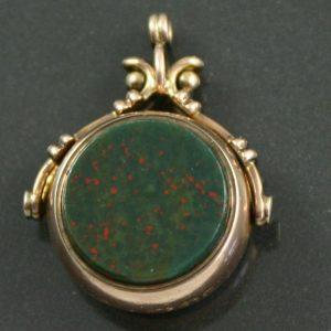 Victorian Swivel Fob Seal pendant