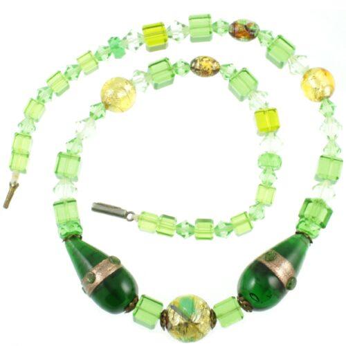 1920s Venetian Foil Necklace