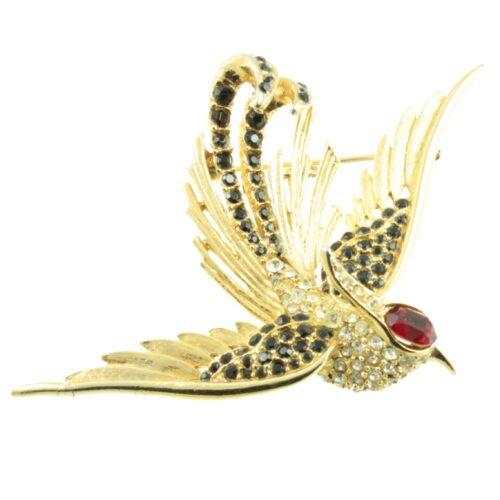 1960s Swallow Brooch