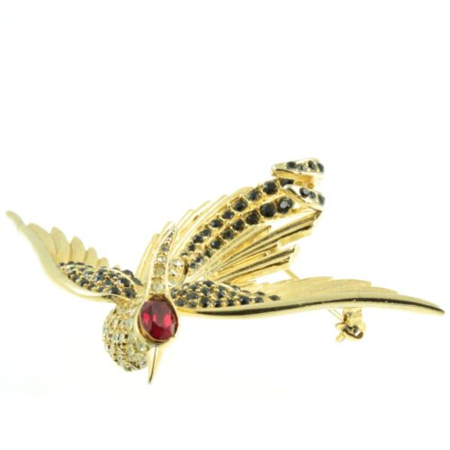 1960s Swallow Brooch