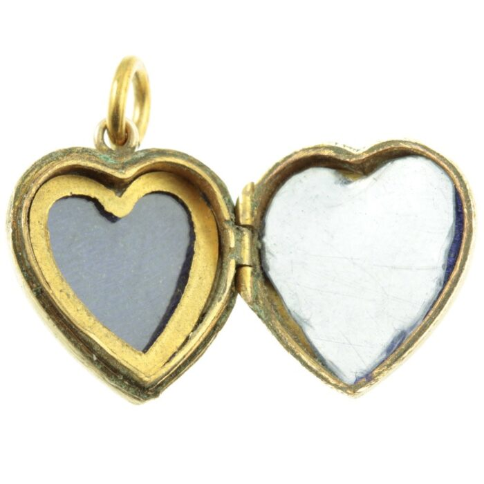 9ct Yellow Gold Heart Locket