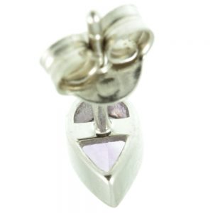 Amethyst and White Gold Earrings