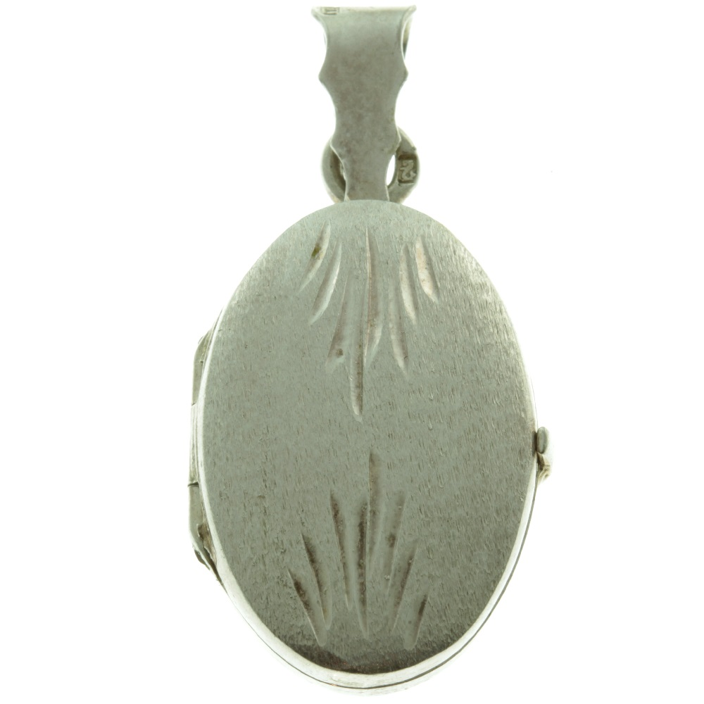 Art Deco Sterling Silver Locket