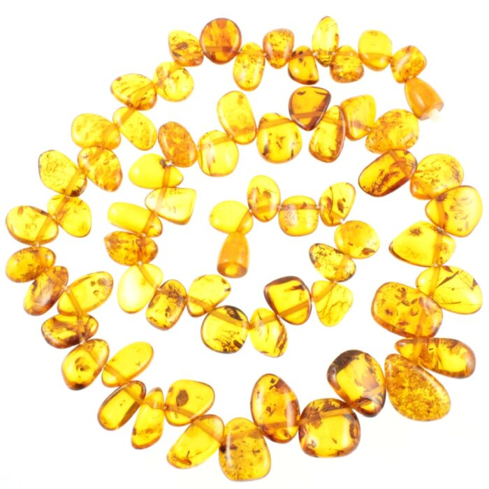 Baltic Nugget Amber Necklace