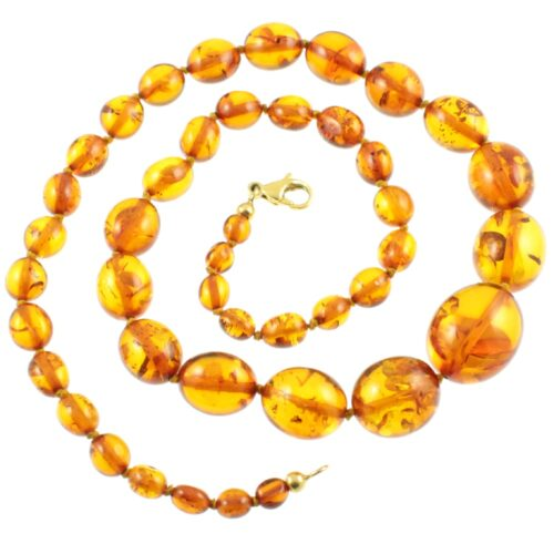 Hand Knotted Amber Necklace