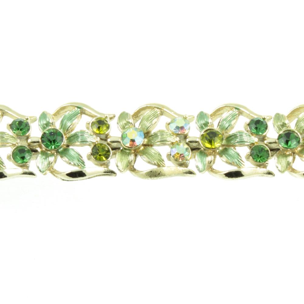 Jewelcraft Rhineshone Bracelet - front view