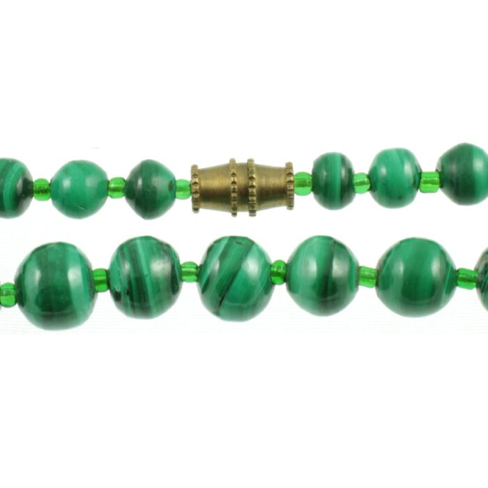 Malachite Bead Necklace