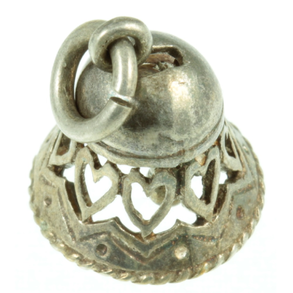 Silver Bell Charm