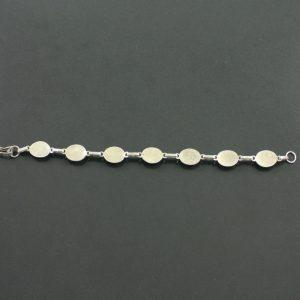 Silver Lapis Lazuli Bracelet