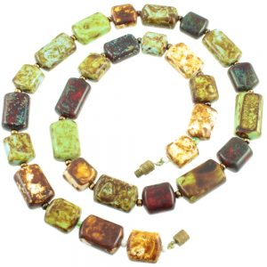 Venetian art glass necklace