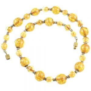 Venetian Aventurine Swirl Necklace
