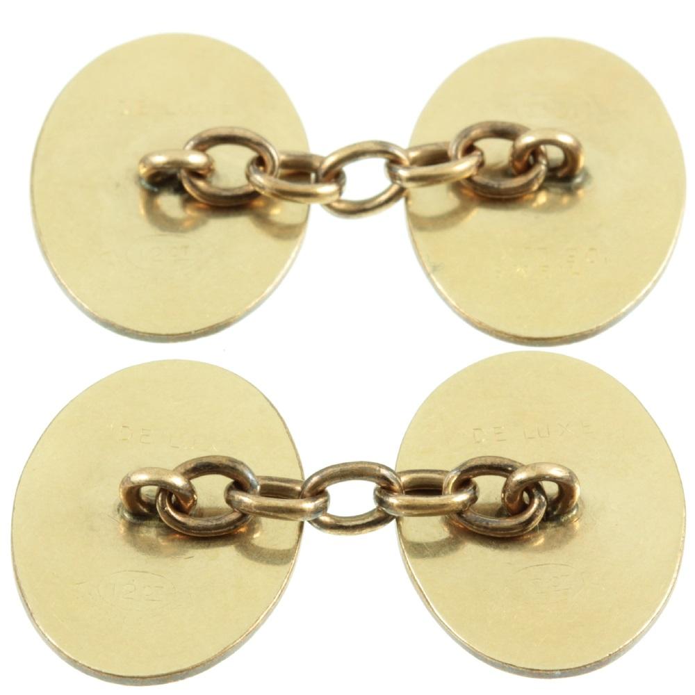 Victorian Double cufflinks