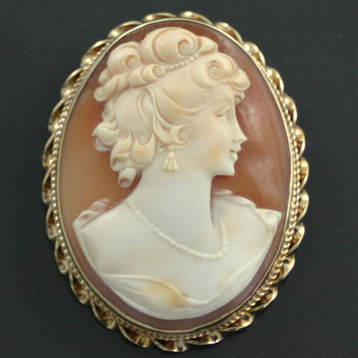 15ct gold edwardian brooch