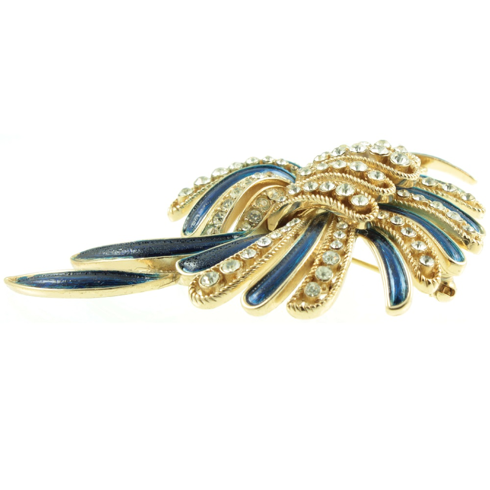1930s Trifari Spray Brooch