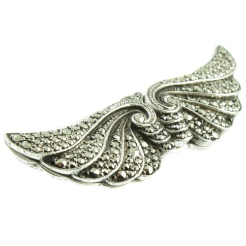 Art Deco Duette Brooch