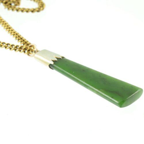 Art Deco Jade Pendant