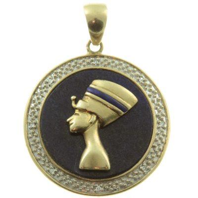 Art Deco Egyptian Pendant