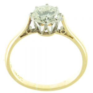Gorgeous 0.75 carat diamond ring