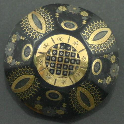 Victorian Tortoiseshell Pique Brooch