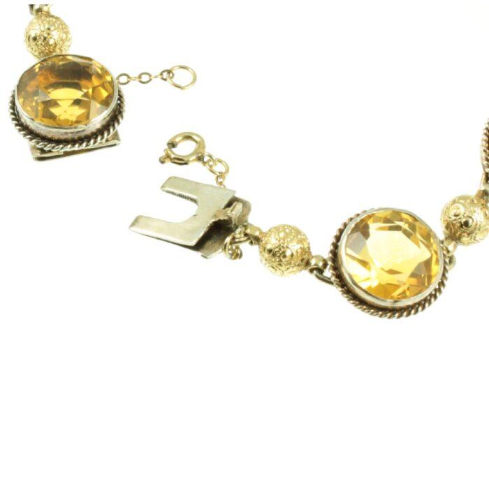 Victorian Citrine Bracelet