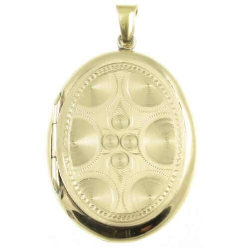 Victorian Enamel and Gold Locket