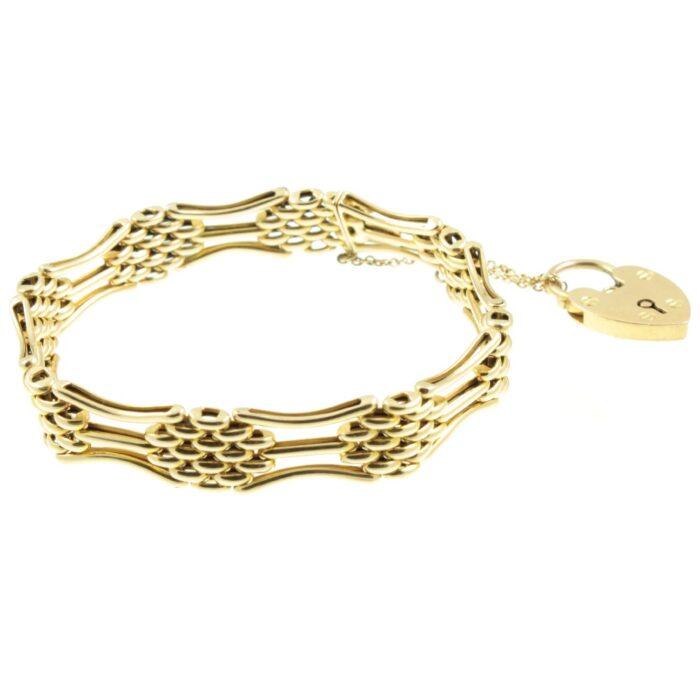 Edwardian Gate Link Bracelet