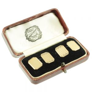 Victorian 9ct gold Cufflinks