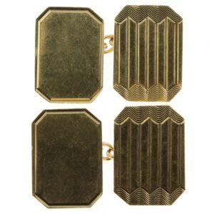 Victorian 9ct gold Cufflinks