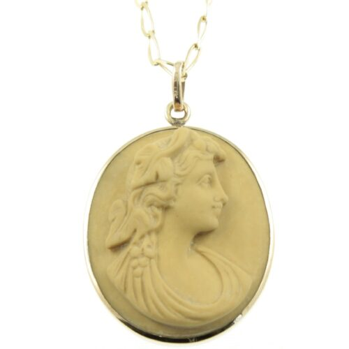 9ct Gold Cameo Pendant