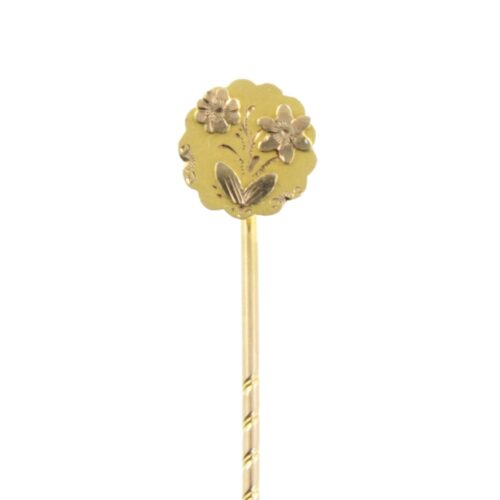 Edwardian 9ct Gold Tie Pin