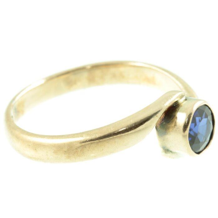 1920`s sapphire ring